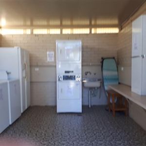 Caravan and Cabin Amenities Block 2 Laundry