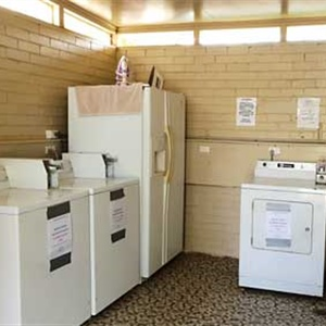 Caravan and Cabin Amenties Laundry