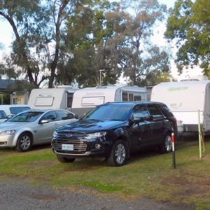 Powered Drive thru Caravan Sites